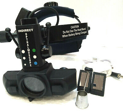 Free Shipping Led Indirect Ophthalmoscope With Accessories Carry Case Kfco