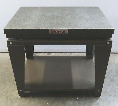 Starrett Superior Black Granite Surface Plate Grade A 36 X 24 X 4 - 8630-7