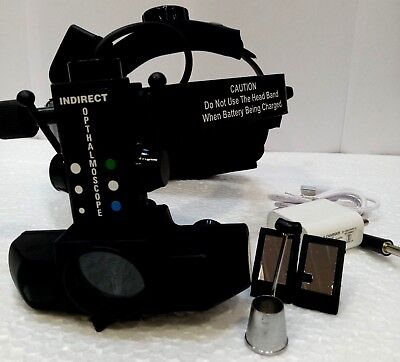 Ophthalmic Led Binocular Indirect Ophthalmoscope With Accessories Mg-717k