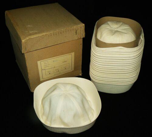 50s vtg NOS Kids Sailor Cap Box Lot 24 hats japan carnival ball blank tshirt 60s