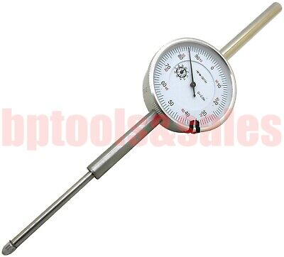0-2 Inch Dial Indicator Travel Dial Indicator .001 Grad Lathe Precision Tool
