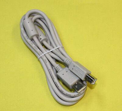 1,8m USB 2.0 Druckerkabel mit Ferritkernen zur Enstörung