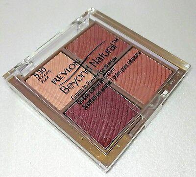 REVLON 530 Beyond Natural Cream to Powder Eye Shadow 0.20 oz Plumblerry/Plum