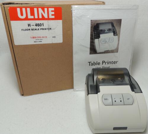Uline Low Profile Floor Scale Printer H-4601