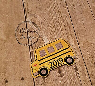 Custom Made Christmas Ornaments (Buy 3 Get 1 FREE - Custom Made School Bus Christmas Ornament (ONE) - Great)