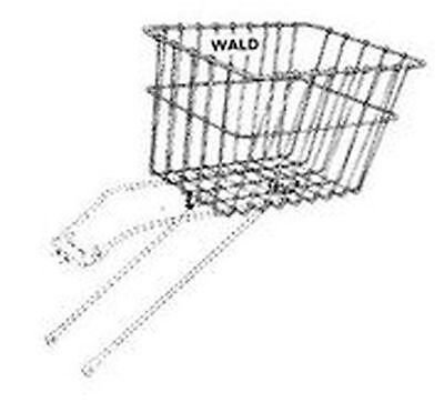 Wald 585 Rear Bicycle Basket 14.5 x 9.5 x 9