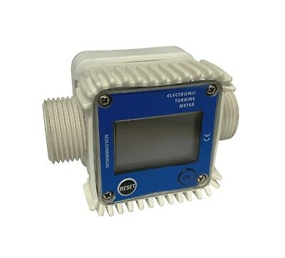 Flow Meter 1 Bsp Afm30 K24 Electronic Turbine Meter Water Gas Oil Food Turbo