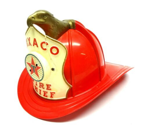 TEXACO Fire Chief Hat from 1960