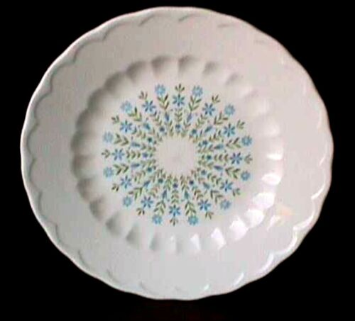 """**DOLLY MADISON (1) 7 ¾"""" SALAD PLATE EDWIN KNOWLES UW31-F"""