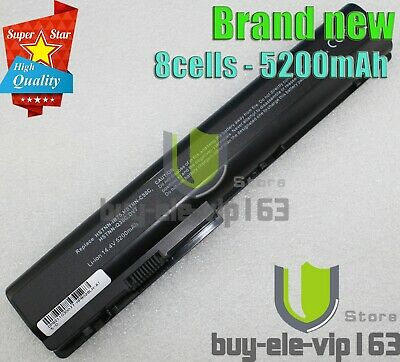 14.4V-5200mAh Battery For HP HDX X18-1204TX X18-1205TX X18-1222EG X18-1280EW PC