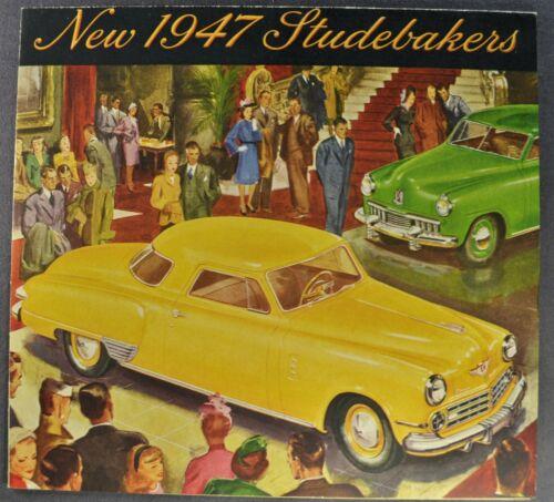1947 Studebaker Brochure Champion Commander Land Cruiser Excellent Original 47