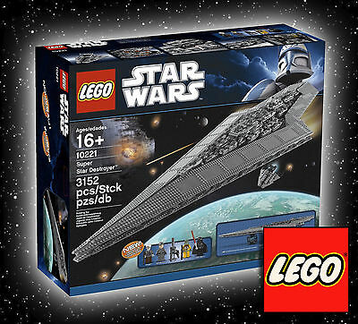 LEGO Super Star Destroyer (10221) Brand New & Factory Sealed! Awesome condition!