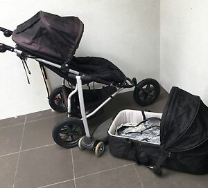 3 Wheel Urban Jungle Mountain Buggy Pram & Bassinet Mount Gambier Grant Area Preview