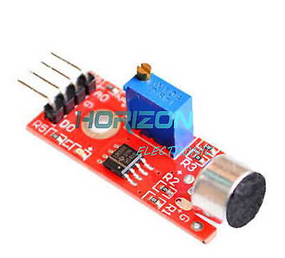 Microphone Sensor Avr Pic High Sensitivity Sound Detection Module For Arduino Be