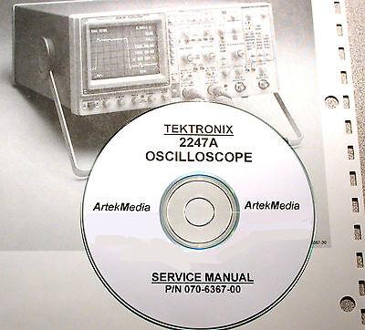 Tektronix 2247a Oscilloscope Service Manual