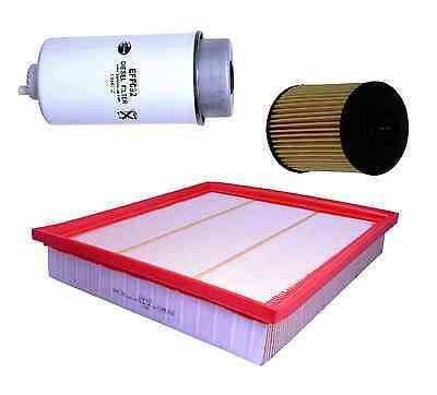 FORD TRANSIT VAN 2.2 TDCi Oil, Air & Fuel Filter Service Kit, 10/07>  (2200CC)