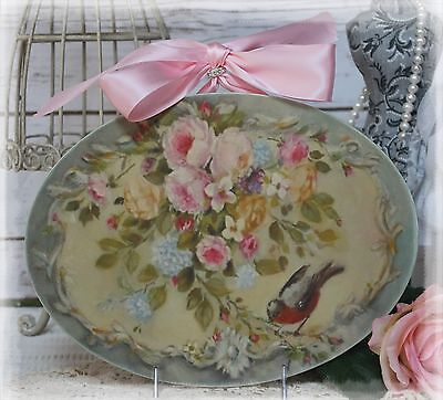 """~ """"Roses..."""" ~ Vintage ~ Shabby Chic ~ Country Cottage style ~ Wall Decor Sign ~"""