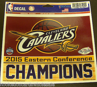 Cleveland Cavs Cavaliers 2015 Eastern Conference Champions 5 x 6