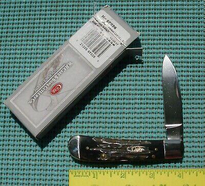 2017 CASE XX TONY BOSE Tribal Lock Knife TBBH12010L SS (Buffalo horn handles)