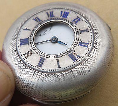 Antique OMEGA GRAND PRIX PARIS 1900 Pocket Watch half hunter hall marked 3963473