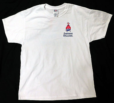 Sherwin Williams Cover The Earth T Shirt Size Xxl   New