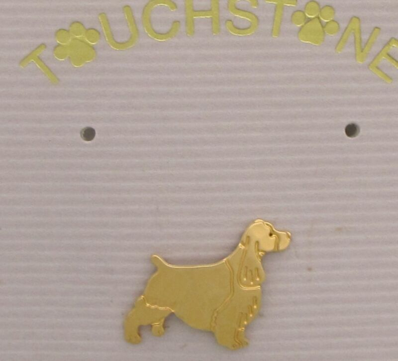 English Springer Spaniel Clutch Pin by Touchstone Dog Designs