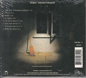 Michel Polnareff - Bulles   (CD/NEU/OVP)