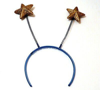 Vintage Gold Star Deely Bopper Headband from 1980s](Deely Boppers)