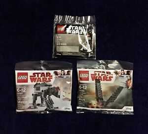 LEGO Star Wars Polybags Minifigures Brand New