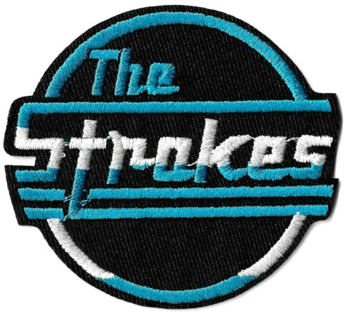 The Strokes - Logo Patch [Embroidered] Symbol Emblem Classic Rock Patches