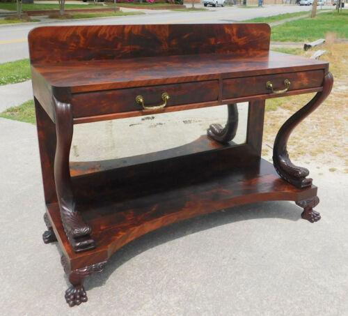 Fantastic Empire Revival Mahogany Pier Table~~Server circa1890