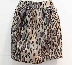 Camilla and Marc Blue Leopard Skirt - size 6 Goondiwindi Goondiwindi Area Preview