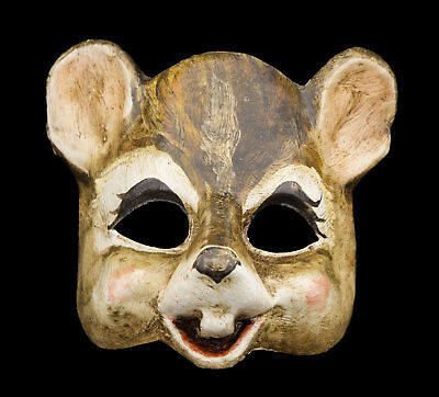 Mask from Venice Mouse in Paper Mache Collection Prestige Face Child 2404