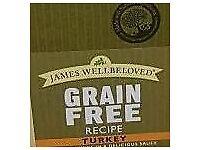 James wellbeloved grain free cat food x 4 boxes