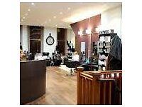 Full Time senior hairdresser req for city Salon