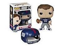 Eli Manning New York Giants Pop Vinyl