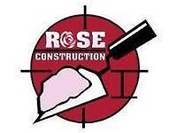 Rose construction conservatory / extension roofs garden walls fencing all building work damp proof