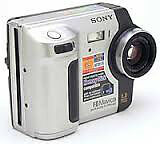Sony's MVC-FD87 Camera Type Point & Shoot Optical Zoom 3x