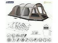Outwell navada xl tent, footprint and carpet