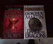 Game of Throwns hard cover books