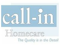 Calling all Care Assistants, Homecarers, Care Workers, Carers - Join Call-In Homecare (<£9.50/hr)