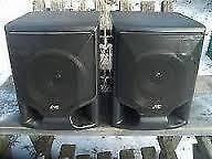 Excellent Condition: Pair Of JVC Speakers