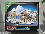 4 GREAT FACTORY SEALED WREBBIT 3D PUZZLES $40.00 for all   TITA