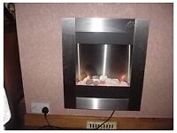 Electric fire.
