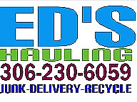 Junk Hauling Recycling call 306 230 6059