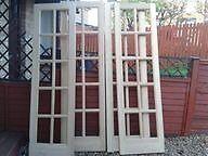 Solid unglazed doors