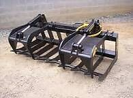 Looking for skid steer root/brush grapple