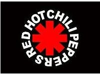 2 x Red Hot Chilli Peppers, Standing - 11th December, Birmingham