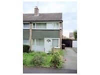 3 bed semi to rent off Nursery Lane, north Leeds. NO DSS