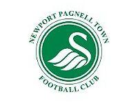 Goalkeeper U18 Newport Pagnell FC